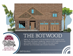 The Botwood Front Elevation
